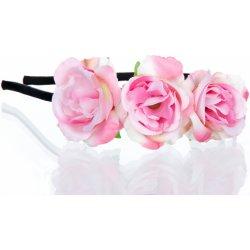 Fashion Icon Čelenka do vlasů Hand made- Ruční práce květinová růže  CV0051-35 f023ec4858