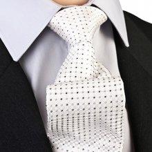 Greg Svatební kravata stříbrnošedá 91205