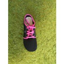Beda barefoot tenisky černo-růžové ffea3d0876