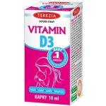 Terezia Vitamin D3 Baby od 1.měsíce 400 IU 10 ml