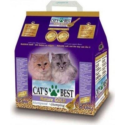 Kočkolit Cats Best Nature Gold 10l