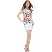 4ffd819a7a5 Ever-Pretty přiléhavé krátké šaty s květy 5201