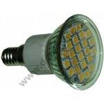 LED24-E14WW LED žárovka E14 24 x SMD5050 teplá 230V