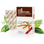 Hawlik Cordyceps extrakt + prášek 120 cps.