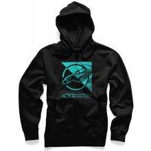 Alpinestars Pánská mikina černá RIFT ZIP HOODIE 1036-53011 10