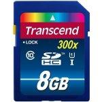 Transcend 8GB SDHC UHS-I U1 300X TS8GSDU1
