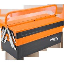 dcfb48ed21b77 Neo Tools 84-101 kufr na nářadí 550 mm plechový rozkládací od 1 130 Kč -  Heureka.cz