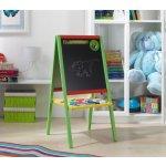 3toys Barevná dětská magnetická tabule s papírem 4v1 100 cm