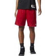 Adidas dámské šortky Performance W Rev Czy Ex ShTmavě červená   Bílá 675f2ba1ad