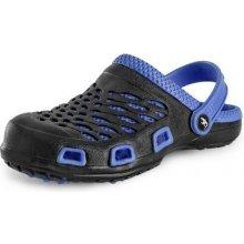 Obuv sandály a nazouváky Nazouvák TREND, pánský, černo-modrý