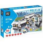 ICOM Blocki policejní stanice s kamiónem 511 dílků