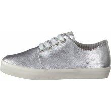 fa5afa3a87d s.Oliver Dámské boty 985527 stříbrná