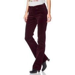 671ad1b08cc Cheer Manšestrové kalhoty bordó džíny