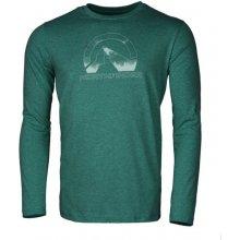 NorthFINDER AYAAN Pánské triko s dlouhým rukávem TR-3261SNW4953 oceán