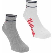 Tommy Hilfiger Quarter 2 Pack Socks White