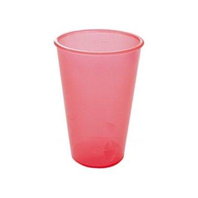 Injeton Plast Vratný kelímek červená 300 ml