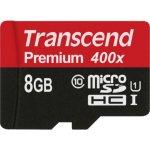Transcend microSDHC 8GB UHS-I TS8GUSDCU1