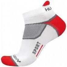 Husky ponožky Sport červená