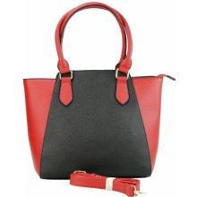 Beiyani kabelka velká v kombinaci s černou červená