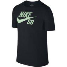 Nike SB LOGO TEE 821946-015 černá