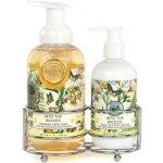 Michel Design Works péče o ruce Tajemství lesa Tekuté mýdlo 530 ml + mléko na ruce 236 ml dárková sada