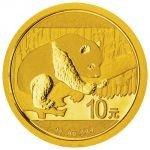 Panda 2016 Zlatá mince 1 g