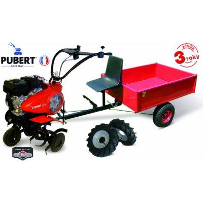 PUBERT VARIO 65B C3 s vozíkem VARES HV 220L + 2x šípová kola 450x10