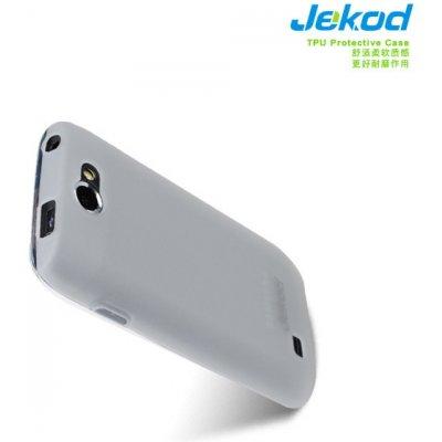 Pouzdro Jekod TPU ochranné Samsung i8150 Galaxy W bílé