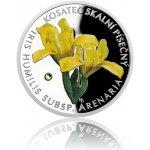 Česká mincovna Stříbrná mince Ohrožená příroda Kosatec skalní písečný proof 16 g