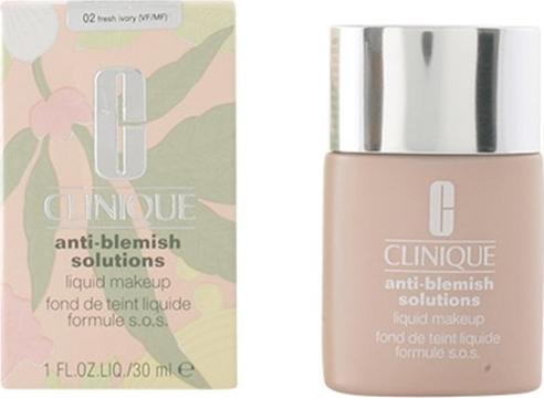 ff23b97914 Clinique Anti Blemish Solutions Liquid tekutý make-up 2 Fresh Ivory 30 ml  od 574 Kč - Heureka.cz