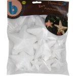 HOBBY polystyren hvězda vánoční 8ks mix velikostí
