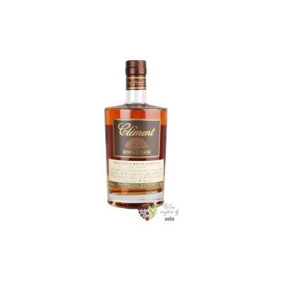 """Clément agricole tres vieux """" Single Cask Moka Intense """" 2010 rum of Martinique 42.2% vol. 0.5 l"""