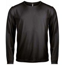 Tričko s dlouhým rukávem Černá