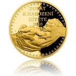Česká mincovna 2018 Dukát k narození dítěte s věnováním 3,49 g