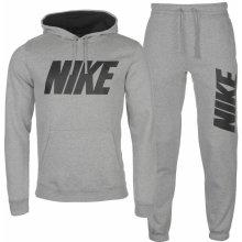 Nike GX Flc T Suit Mens Grey