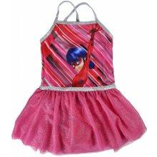 c454d3f57d7c Disney Brand Dívčí šaty Ladybug růžové