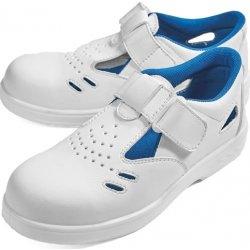 RAVEN WHITE sandal S1 bílá