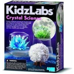 Pěstování krystalů (multicolor)