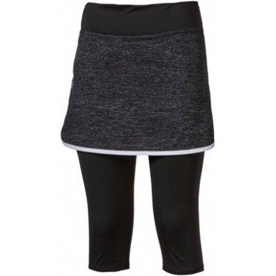 Progress Alerta 3Q dámská sportovní běžecká sukně 2v1 černá