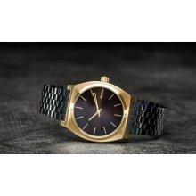 Nixon Time Teller Gold/ Black Sunray