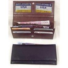 Arwel dámská kožená psaníčková peněženka s klopnou 511 8101 60 černá