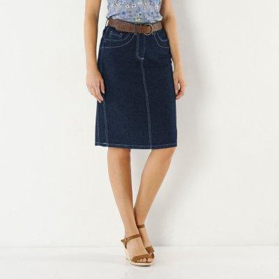 Blancheporte zeštíhlující džínová sukně denim