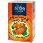 London Fruit & Herb ovocný čaj Jahoda-vanilka 20 sáčků