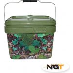 NGT Kbelík 10l Medium Camo Bucket Square Deluxe