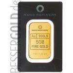 Rand Refinery Zlatý slitek 50 g