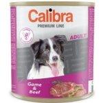 Calibra Dog Premium Adult zvěřina & hovězí 5 x 800 g
