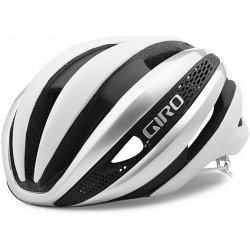 Přilba, helma, kokoska Giro Synthe MIPS matte white/silver 2017