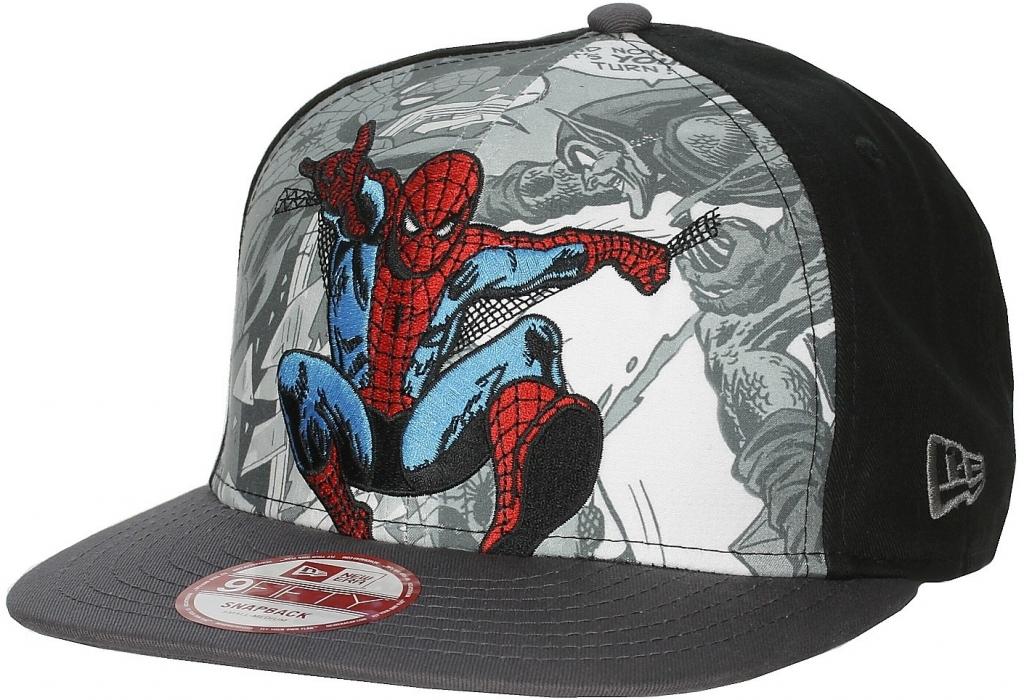 New Era   Marvel Hero Break Out Spiderman černá   tmavě šedá alternativy -  Heureka.cz 9ab71616d0