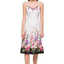6e032b72cbd Jessica Simpson letní šaty na ramínka s květinovým potiskem bílá