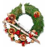 Vánoční věnec na dveře Stromek